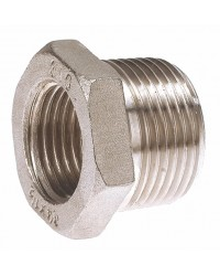 Reduced hexagonal bushing - Male / Female