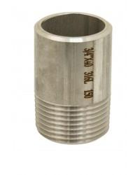 Embout mâle à souder - Inox 316L - Longueur 100 mm