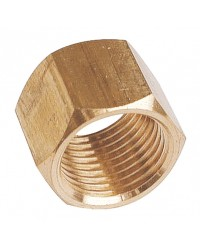 Hexagonal brass coupling - Female / Female