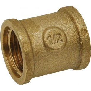 Female brass coupling