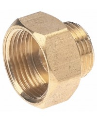 Hexagonal brass bushing - F/M reduced