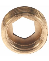 Brass reduced bushing - M/F