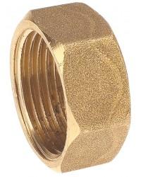 Hexagonal Brass cap - Female
