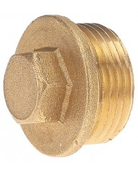 Hexagonal Brass plug - Male