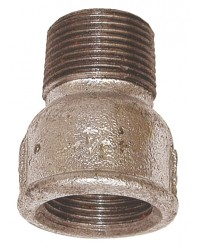 Equal beaded Socket - M/F - Galvanized Cast Iron