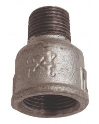 Reducing socket - F/M - Galvanized Cast Iron