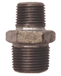 Reducing nipple - M/M - Galvanized Cast Iron