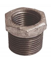 Manchon réduit Mâle / Femelle - Fonte galvanisée