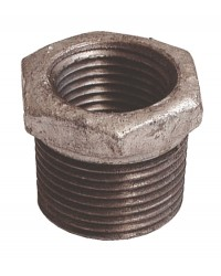 Reducing socket - M/F - Galvanized Cast Iron