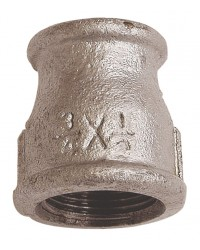 Reducing socket - F/F - Galvanized Cast Iron