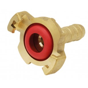 Express fitting - Hosed - With small red gasket hole (NBR)