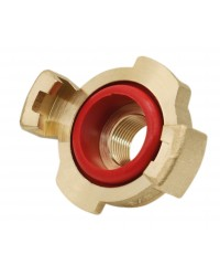 Express fitting - Female - With large red gasket hole (NBR)