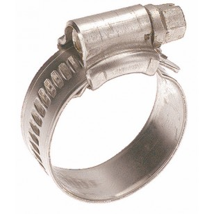 304 Stainless steel clamp with screw