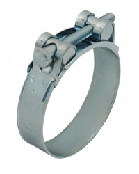 304 Stainless steel clamp with bolt