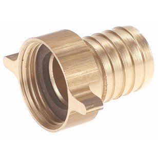 2 pieces fitting - Swivel nut - Hosed