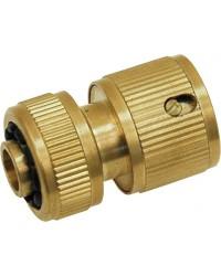 raccords d 39 arrosage laiton automatique pour tuyau souple adg valve. Black Bedroom Furniture Sets. Home Design Ideas