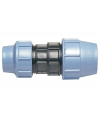 Polypropylene reducing coupler for PE pipe