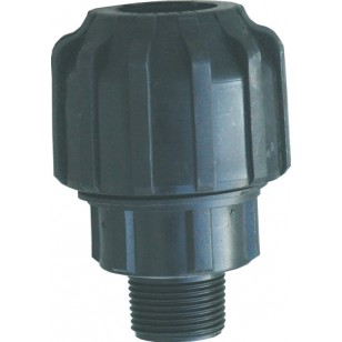 Male straight universal coupling