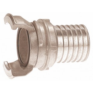 Aluminium Guillemin coupling - Hose connection with locking ring