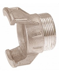 Aluminium Guillemin coupling - Male threaded without locking ring