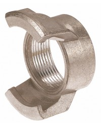 Aluminium Guillemin coupling - Female threaded without locking ring