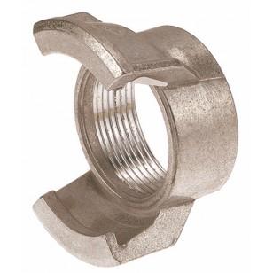 Raccord guillemin aluminium - Femelle sans verrou