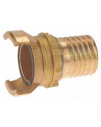 Raccord guillemin bronze - Cannelé avec verrou