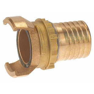Bronze Guillemin coupling - Hose connection with locking ring