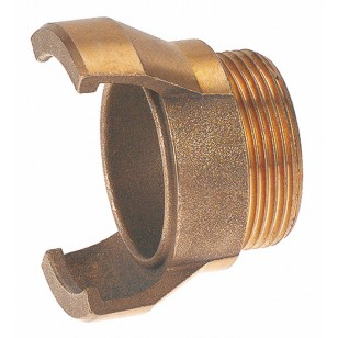 Bronze Guillemin coupling - Male threaded without locking ring