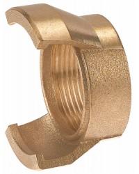 Raccord guillemin bronze - Femelle sans verrou
