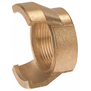 Bronze Guillemin coupling - Female threaded without locking ring