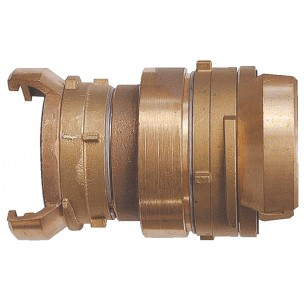 Sysmetrical Bronze reduced coupling