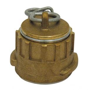 Bouchon bronze de raccord symétrique à chainette