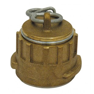 Bronze plug with sysmetrical coupling and chain