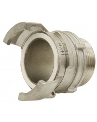 304 Stainless steel Guillemin coupling - Male threaded with locking ring