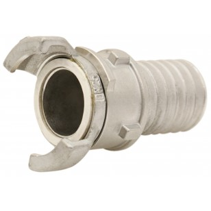 304 Stainless steel Guillemin coupling - Hose connection with locking ring