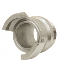 304 Stainless steel Guillemin coupling - Male threaded without locking ring