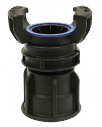 Polypropylene Guillemin coupling - Female threaded with locking ring
