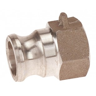 Female adaptor - Type A - Aluminium