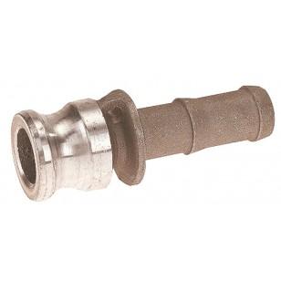 Adaptateur cannelé - Type E - Aluminium