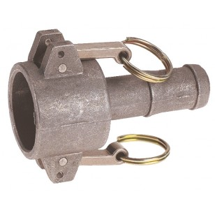 Coupler for hose pipe - Type C - NBR Gaskets - Aluminium
