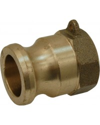 Female adaptor - Type A - Brass