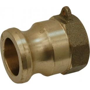 Female adaptor - Type A - Brass