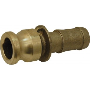 Adaptor for hose pipe - Type E - Brass