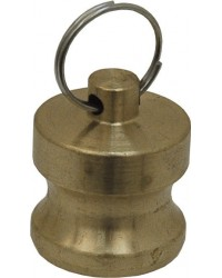 Dustcap for adaptor - Type DP - Brass