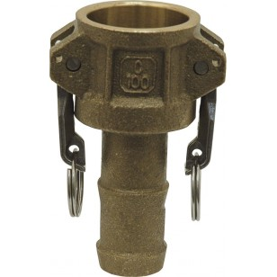 Coupler for hose pipe - Type C - NBR Gaskets - Brass