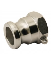 Female adaptor - Type A - 316 stainless steel