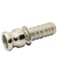 Adaptateur cannelé - Type E - Inox 316