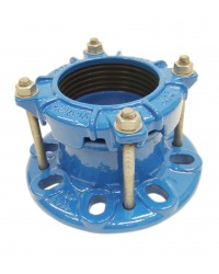 Large tolerance flange adaptor