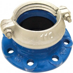 """Self-stop Flange """"LOCK"""" for UPVC pipe"""